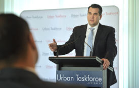 Urban Taskforce Industry briefing in the Senate Alcove, Parliament House, Canberra on 31st July 2019. PHOTO: MARK GRAHAM